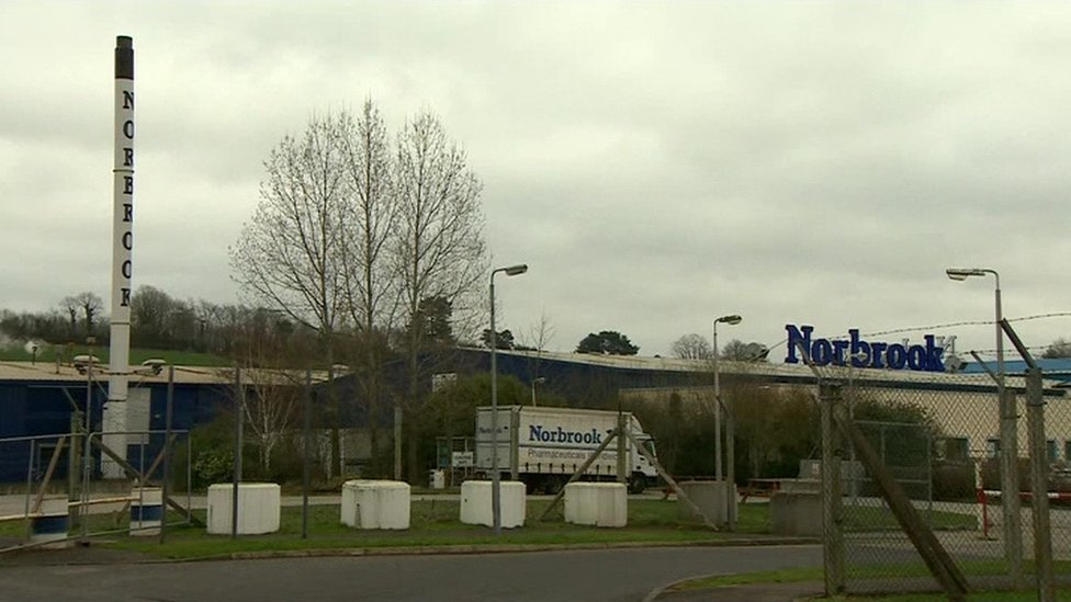 The Norbrook factory in Newry