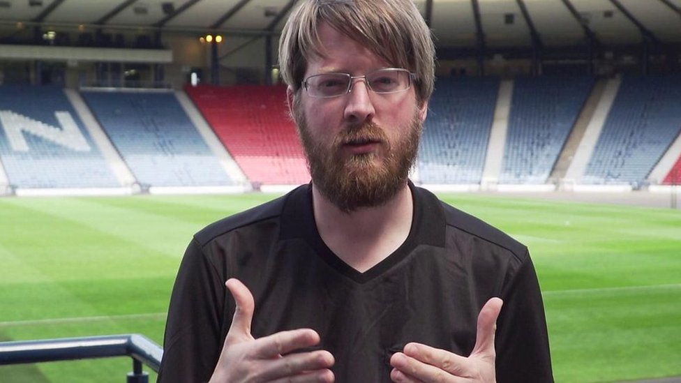 'No barriers to stop you' - Meet Scotland's referee at Deaf Champions League