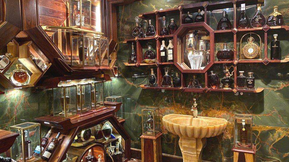 kolekcija viskija