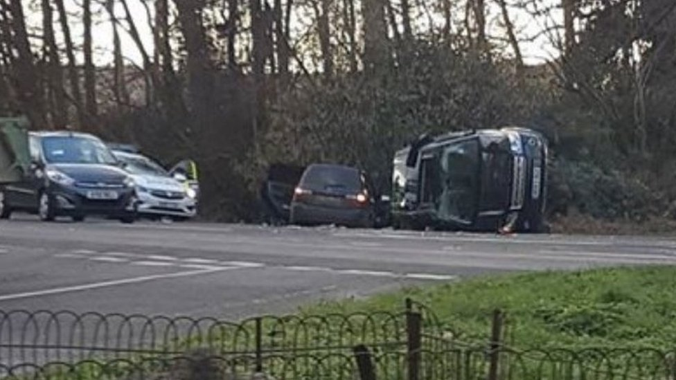 Prince Philip A149 crash road speed limit 'to be reduced'