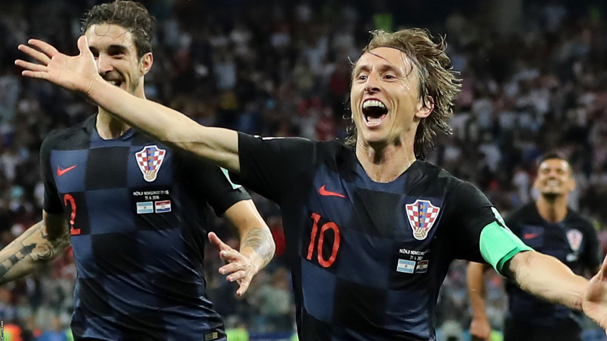 Croatia stun Argentina to reach World Cup last 16