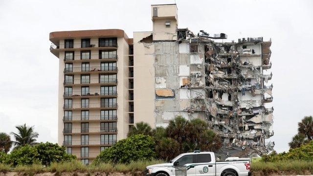 Edificio colapsado en Miami