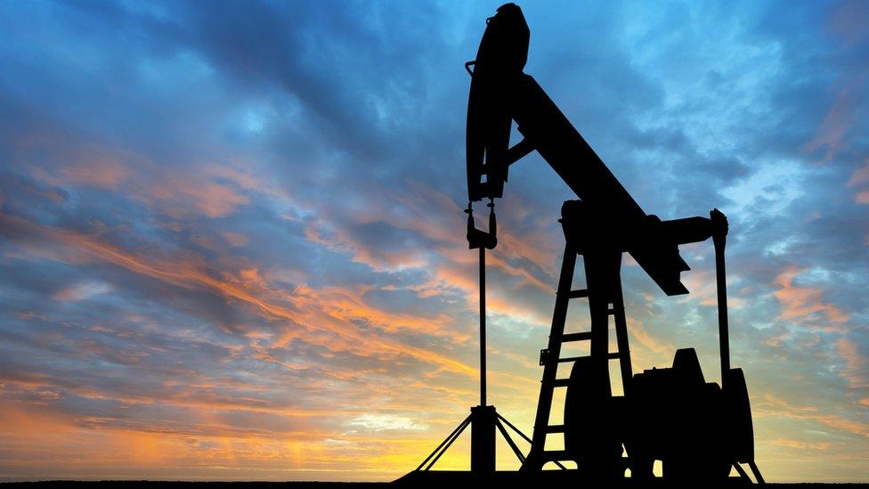 Extracción en pozo petrolero