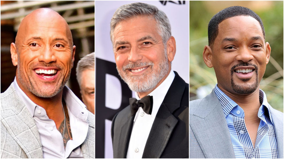 BBC News - Forbes highest-paid actor: The Rock nearly doubles 2017 earnings