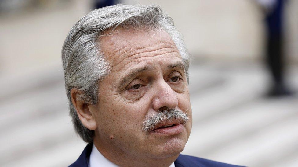 Predsednik Alberto Fernandez