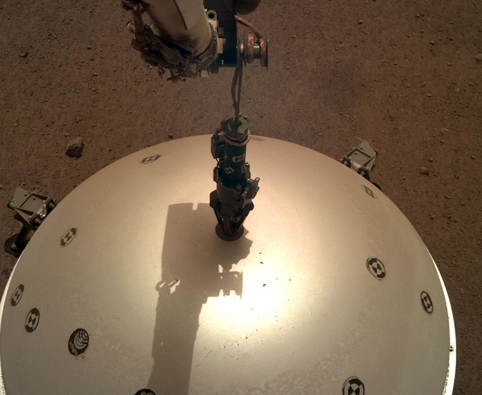 El domo del InSight