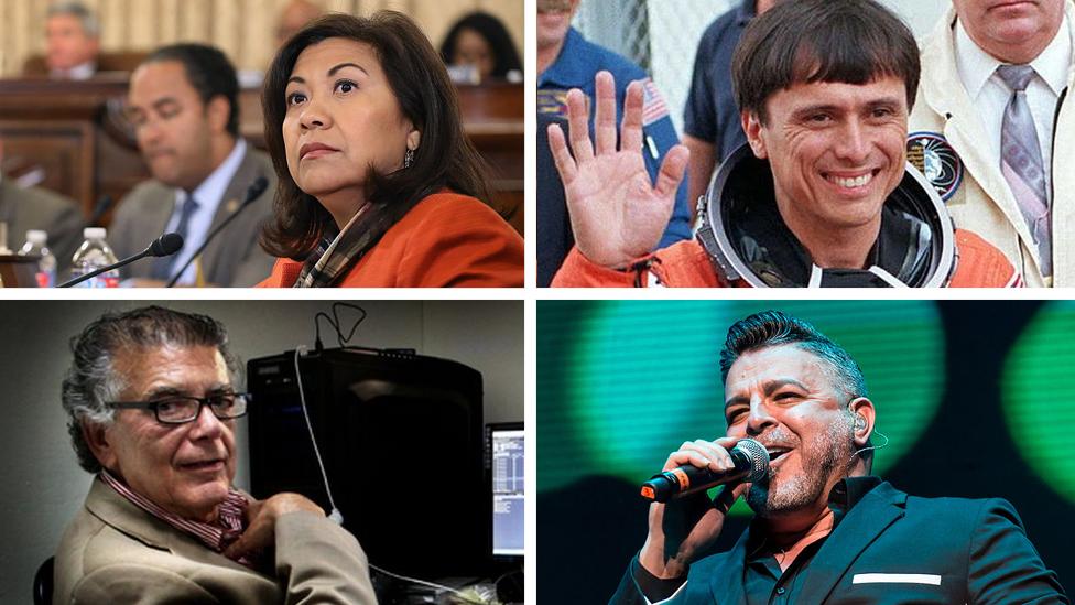 Norma Torres, Franklin Chang, André Guttfreund y Luis Enrique