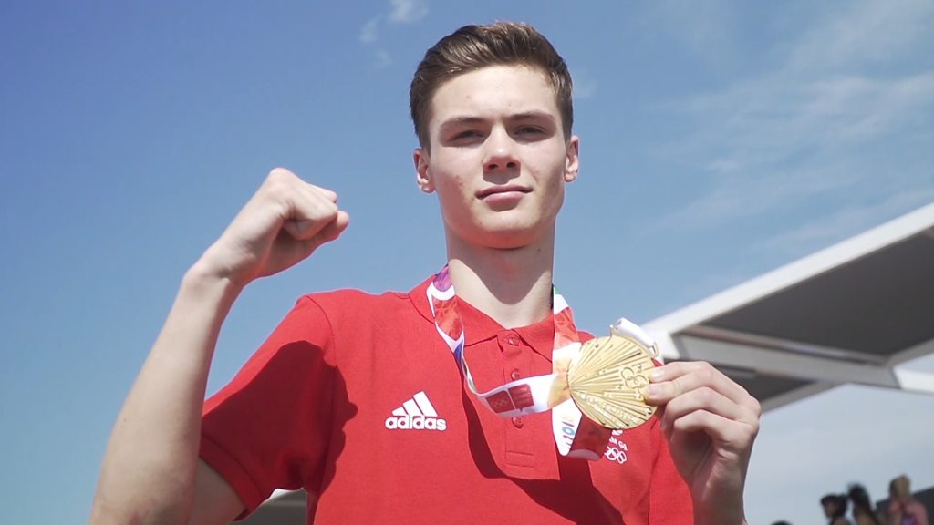 Youth Olympics: 'A dream come true' - Ivan Hope Price wins boxing gold medal for GB