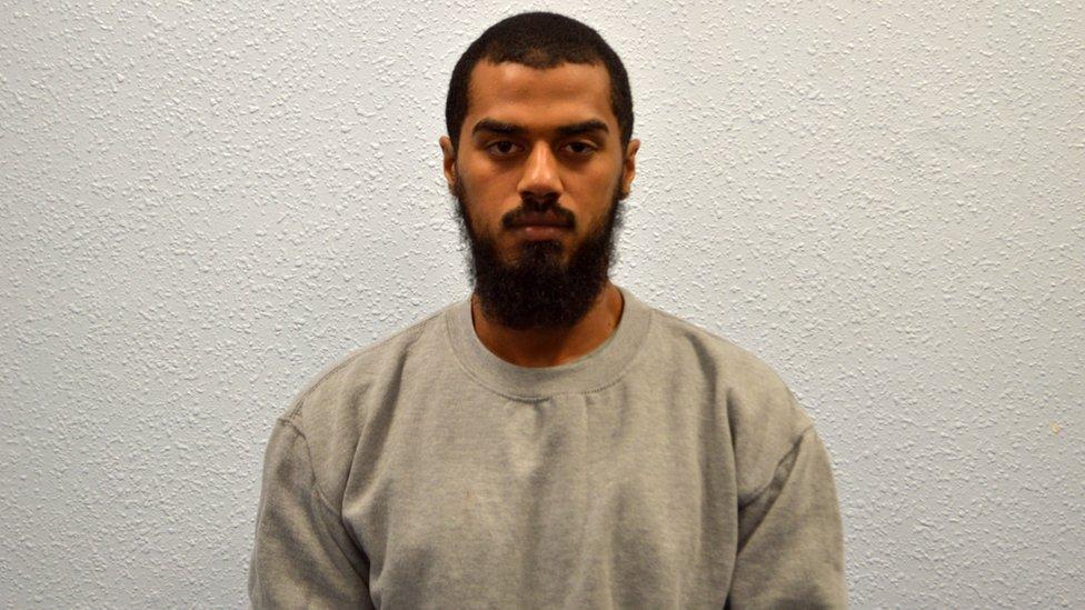 Khalid Ali: Westminster plot bomb-maker jailed for life