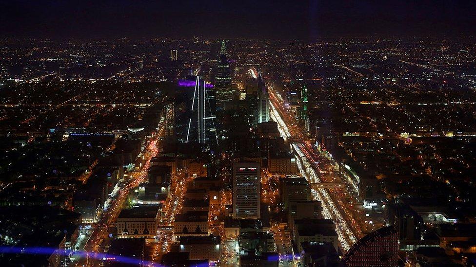 مدينة الرياض عاصمة السعودية
