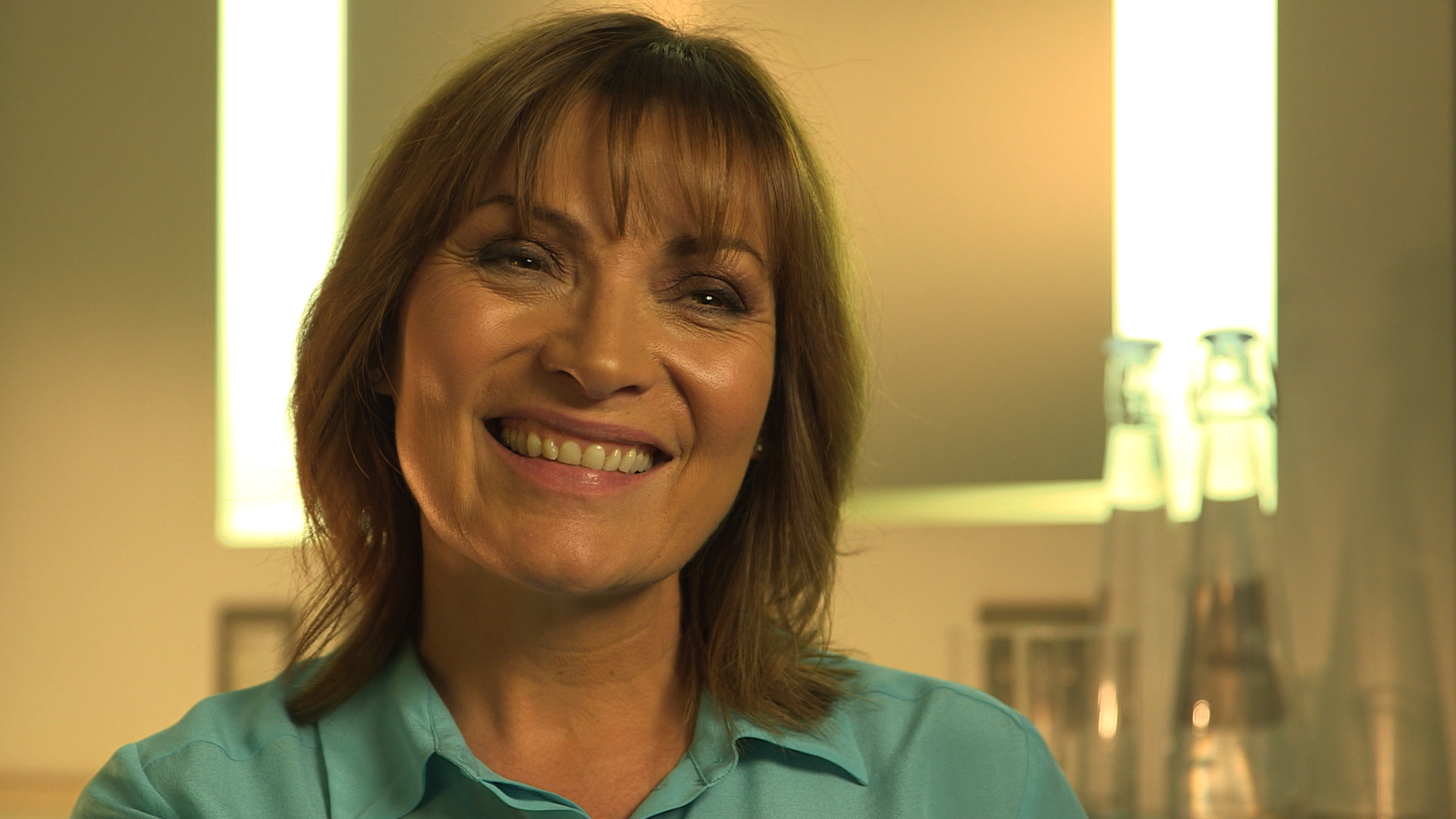 Lorraine Kelly reunited with 'amazing' NHS staff who saved her life
