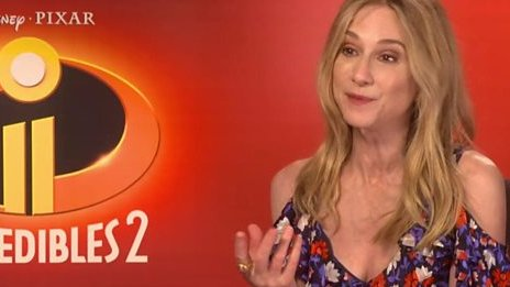 Holly Hunter reveals why women are the stars of the new Incredibles film