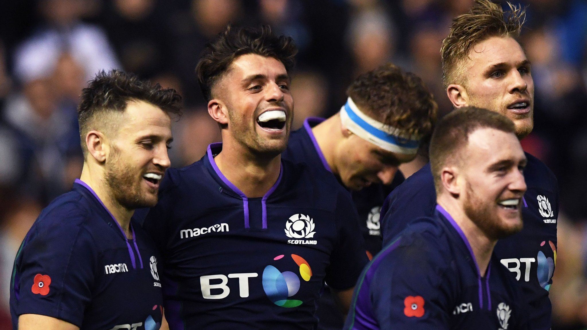 Scotland 'will rise' to Springbok challenge, says Townsend