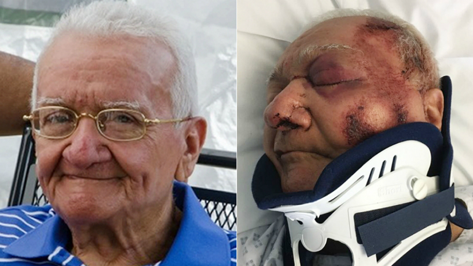 'Cowardly' driver jailed for 'Papa Smurf' grandad hit-and-run