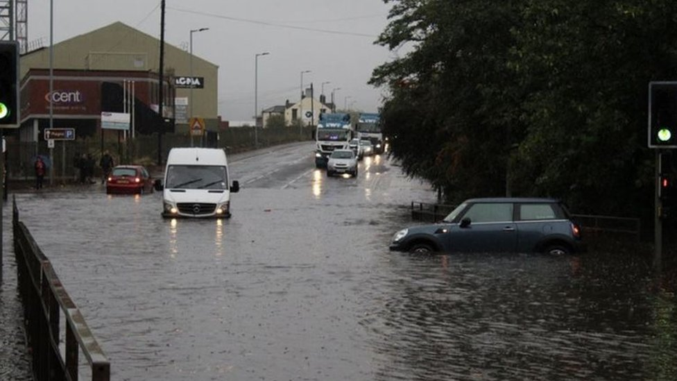 Storm Bronagh brings travel disruption and flooding