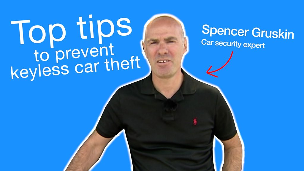 Top protection tips as vehicle theft up 50% in five years