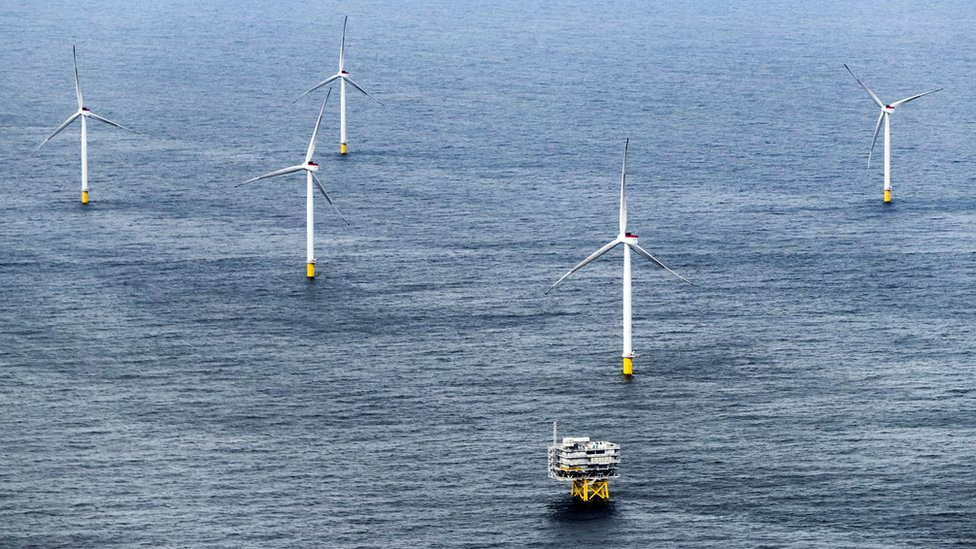 North Sea Race Bank wind farm opens near Lincolnshire and Norfolk