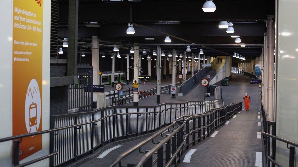 The ramps at Euston