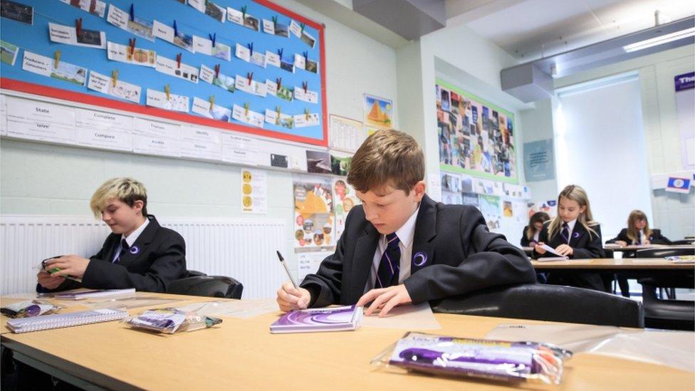 Escolas na Inglaterra