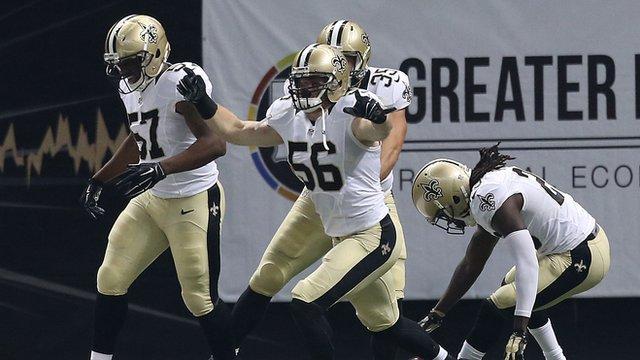 New Orleans Saints end Atlanta Falcons unbeaten starts