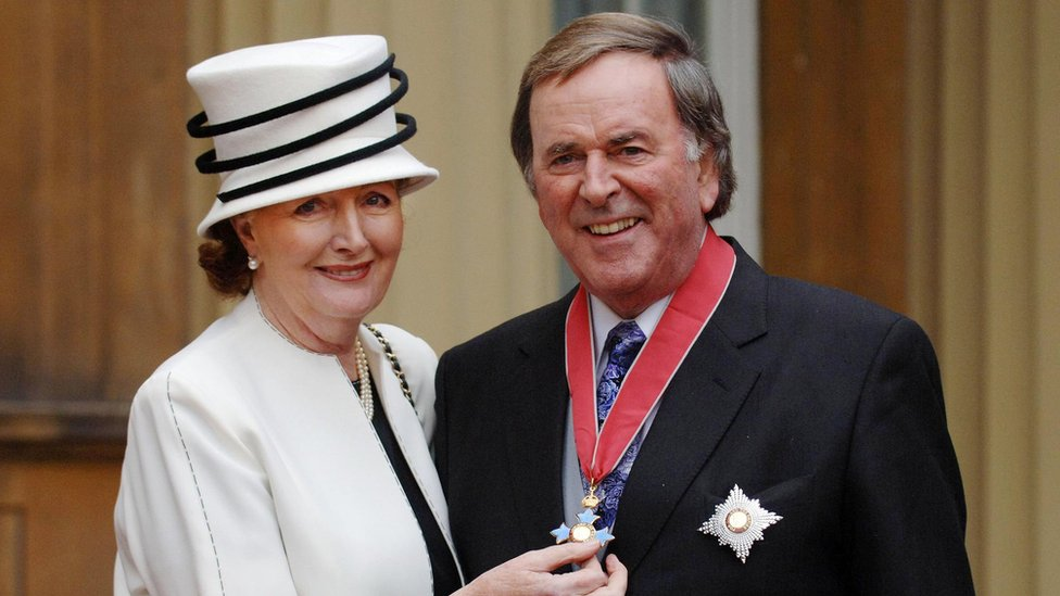 Sir Terry was knighted in 2005
