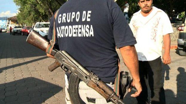 Autodefensas en Michoacán