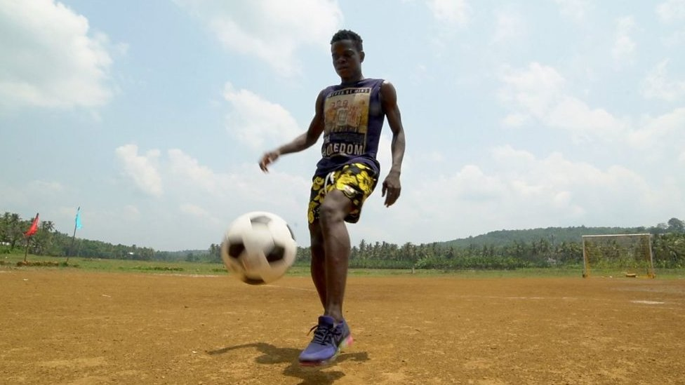 The African footballers changing the game in India