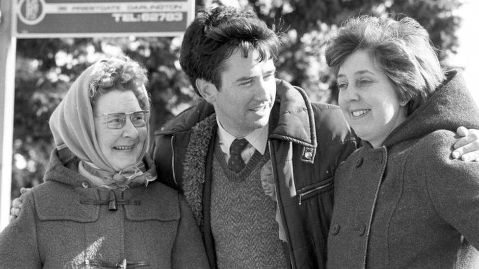Michael Fallon campaigning in Darlington by-election in March 1983