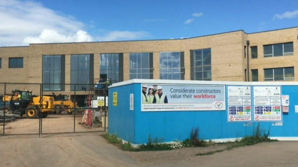 The new Caldicot comprehensive school