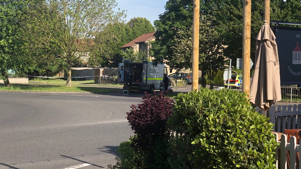 Bomb squad called after 'loud bangs' heard in Worle
