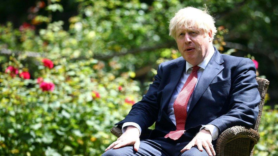 Premijer Britanije Boris Džonson