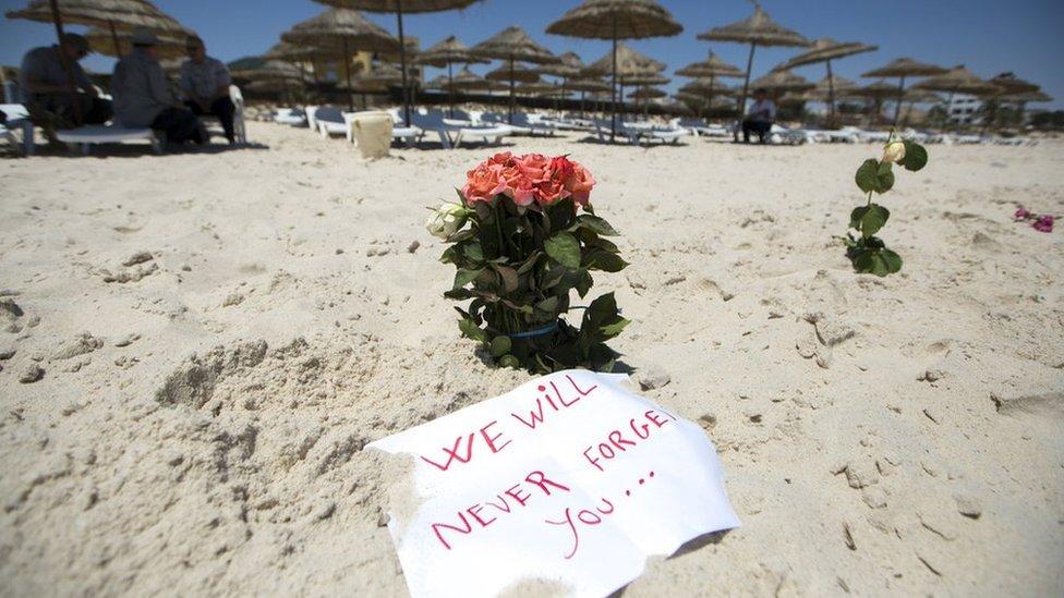 استهدف الهجوم على شاطئ منتجع سوسة السياح الأجانب