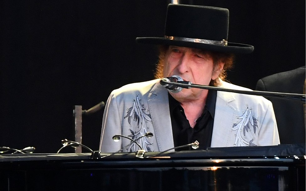 Bob Dilan je nastupio u Hajd parku u julu prošle godine