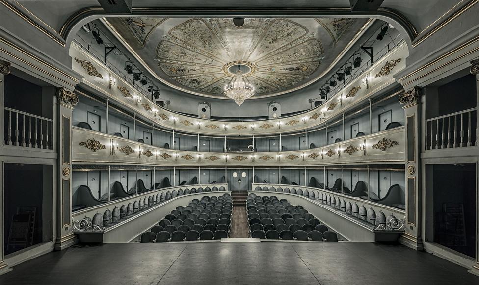 Interior of a theatre