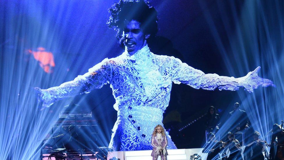 Tributo de Madonna a Prince