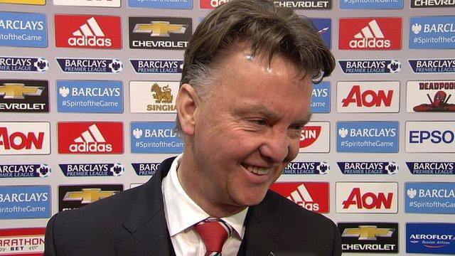 Manchester United boss Louis van Gaal