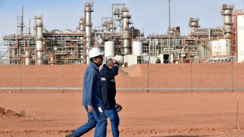 مصنع غاز جنوب شرق الجزائر العاصمة