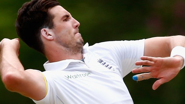 Steven Finn wickets put England in control against South Africa A at Pietermaritzburg