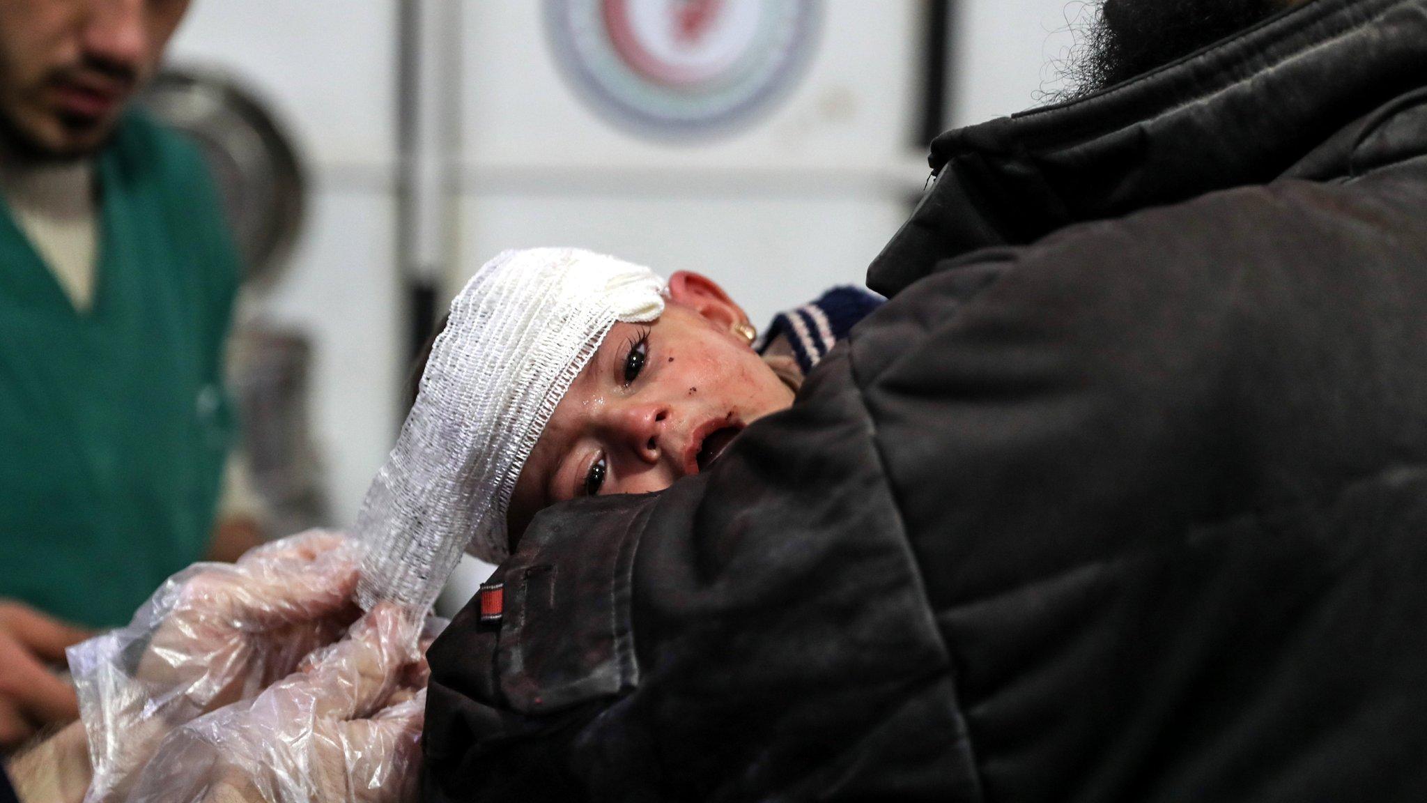 Syria war: UN seeks urgent Eastern Ghouta medical evacuations