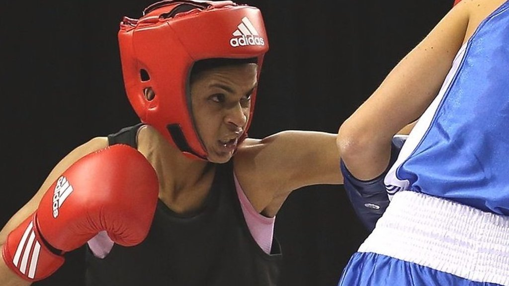 Somali boxer Ramla Ali: My mum said no Muslim girl would box