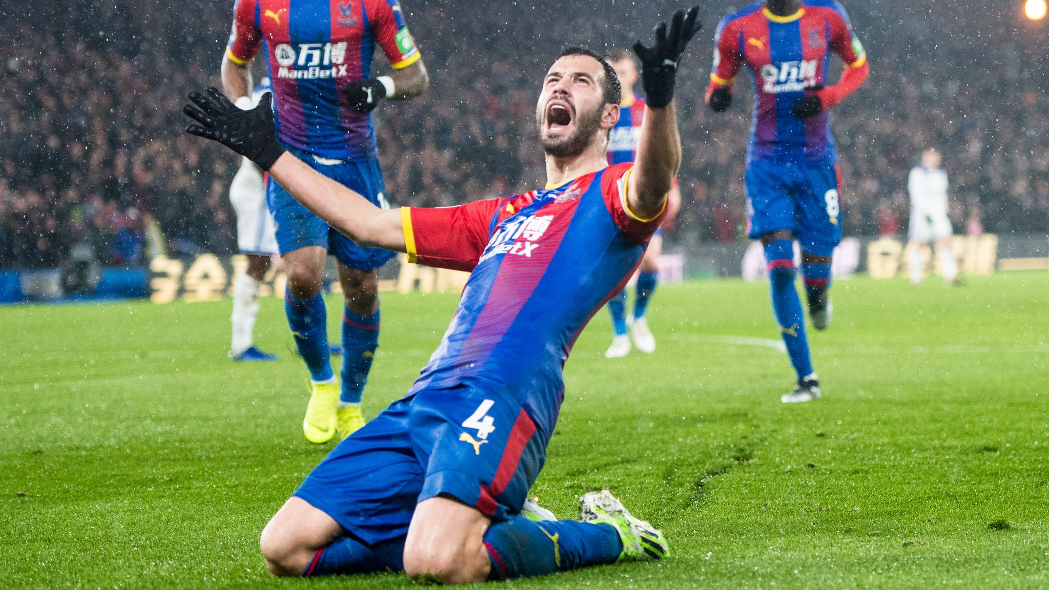 Crystal Palace 1-0 Leicester: Luka Milivojevic earns Eagles win