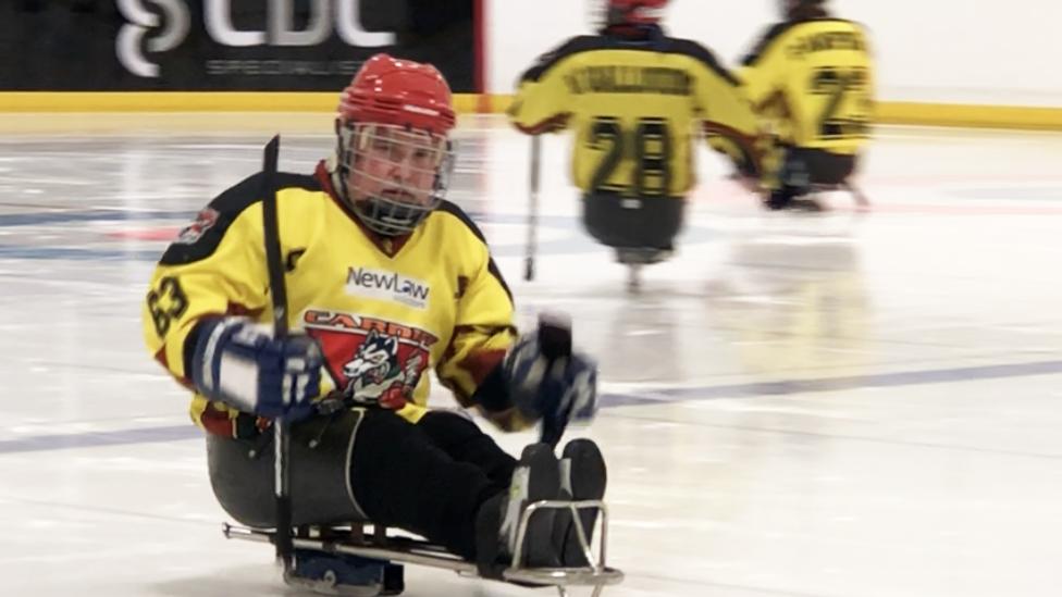 Cardiff Huskies para ice hockey team claim UK title