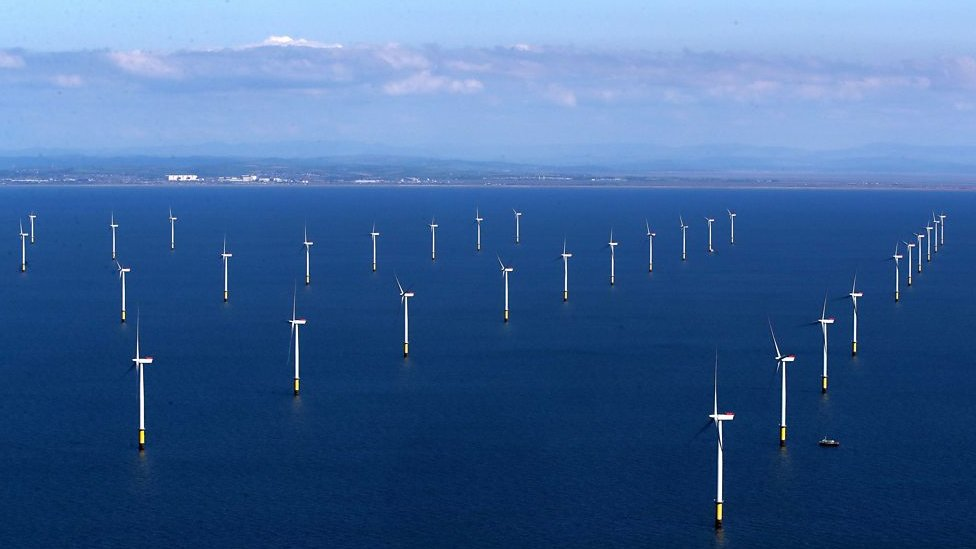 World's largest offshore wind farm opens off Cumbria
