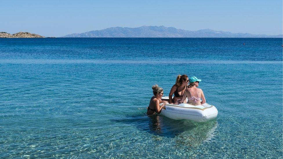 Beach on Mykonos