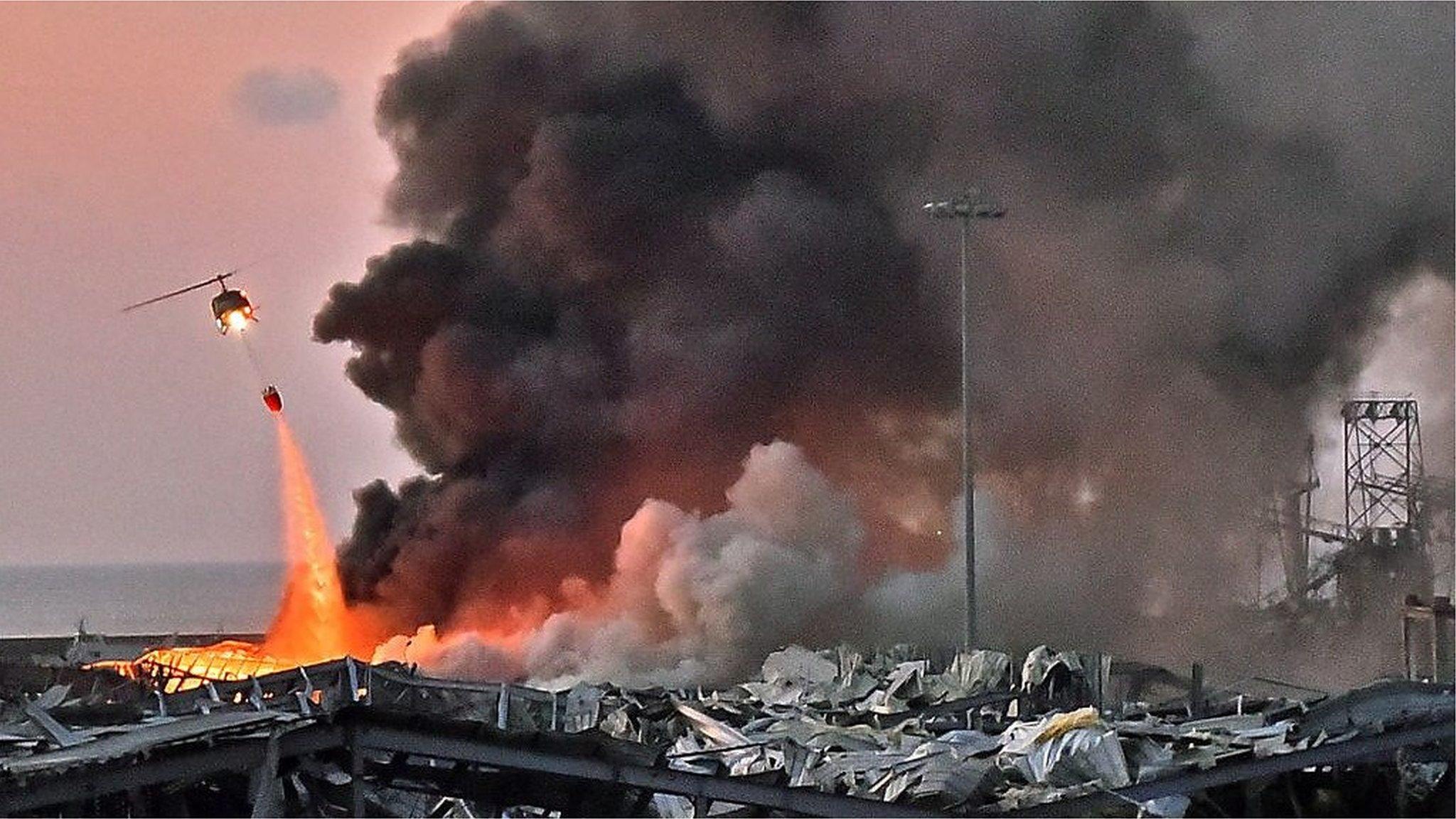 ガラスが粉々、床には血が流れ……」 レバノン・ベイルートの大規模爆発 ...