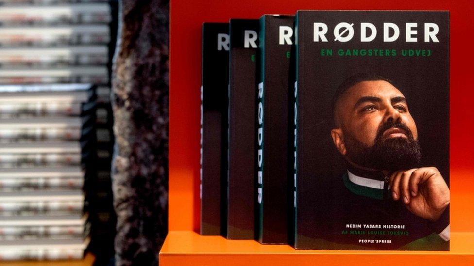 """A book entitled """"Roots - a gangster's way out"""" by author Marie-Louise Toksvig about the life of Nedim Yasar, 20 November 2018"""