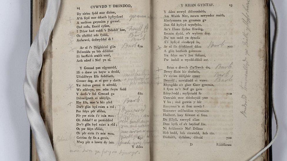 """""""Cywydd y Drindod"""" gan David Richards (Dafydd Ionawr)"""