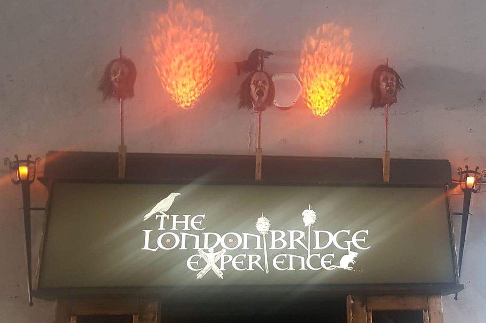 London Bridge Experience entrance