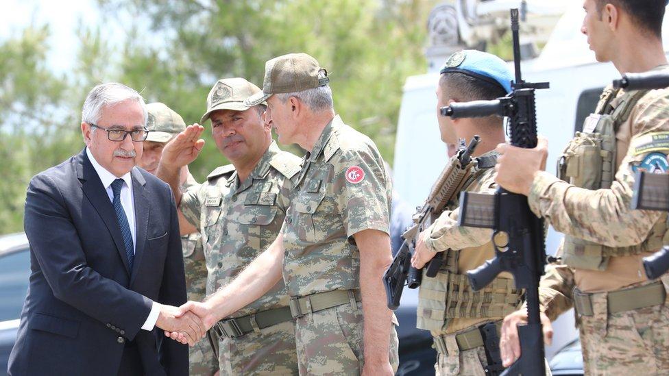 Kuzey Kıbrıs Cumhurbaşkanı Mustafa Akıncı.