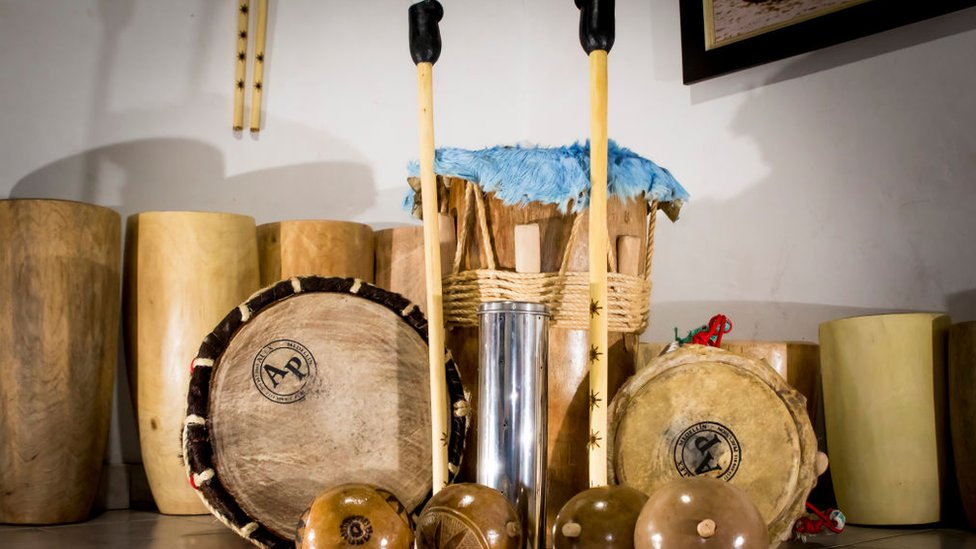 instrumentos de cumbia.